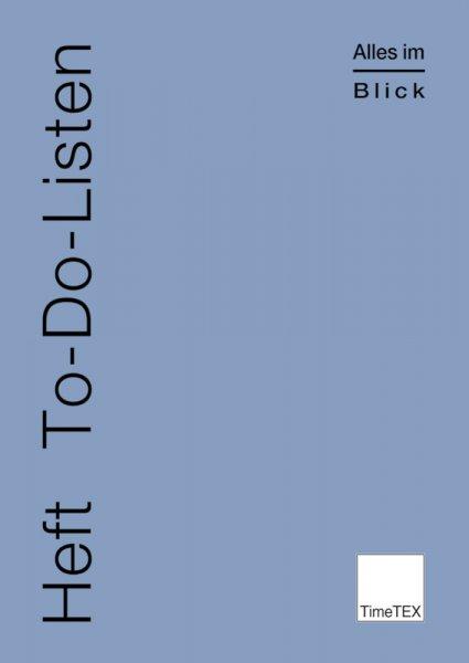 TimeTEX Heft To-Do-Listen A4, 32 Seiten