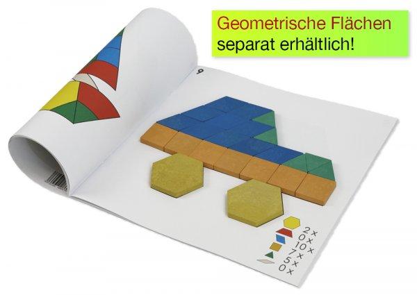 Legeschablonen für Geometrische Flächen