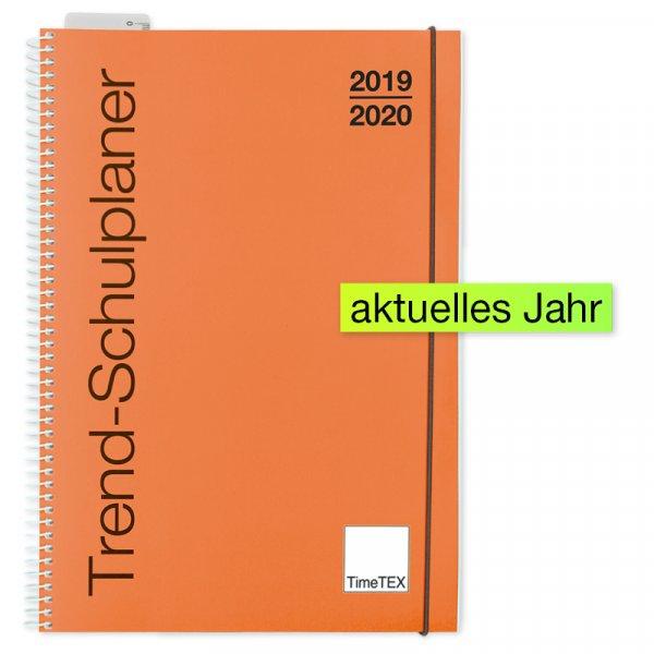 TimeTEX Trend-Schulplaner A4, 2019/2020, lachs