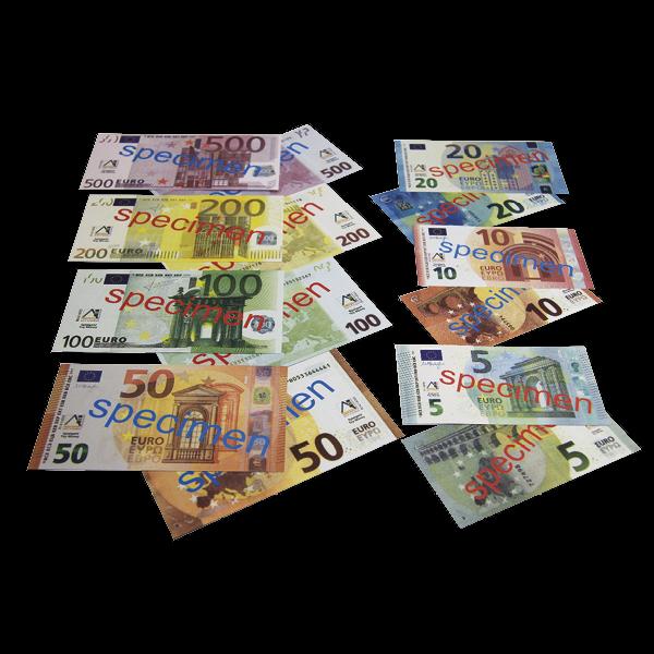 Set Euro-Rechengeld, Scheine, 700-tlg.