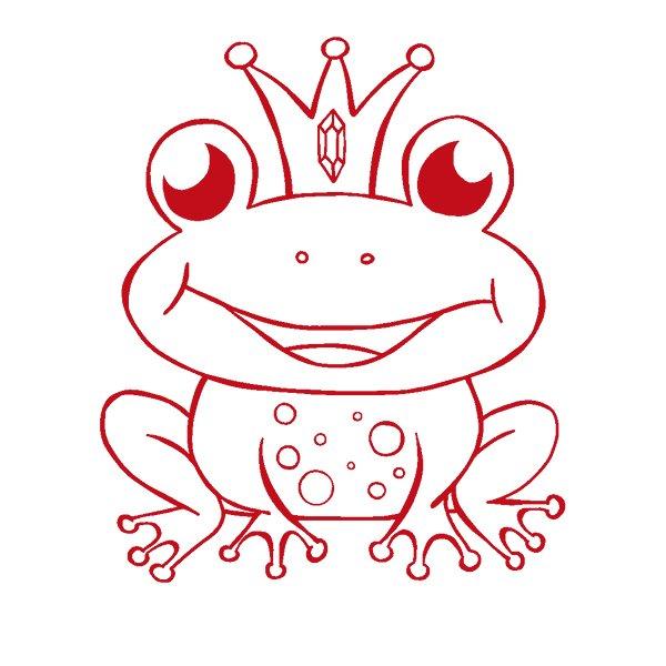 """Siebdruck-Stempel """"Perpetuum"""", """"Froschkönig"""""""