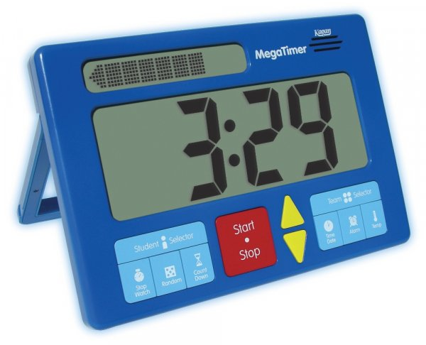 "TimeTEX Zeitdauer-Uhr Digital ""Mega"""