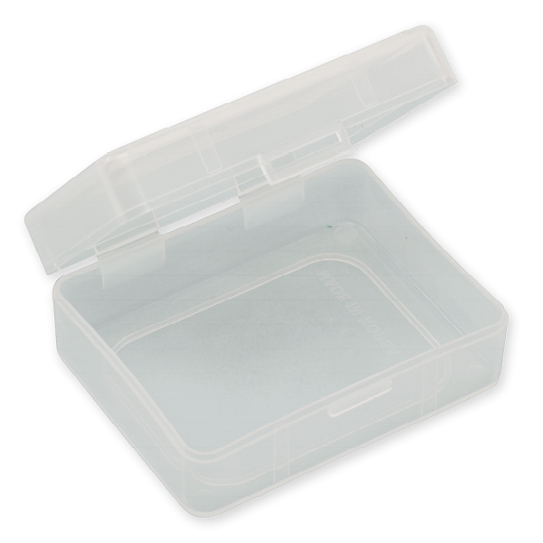 "Klappdeckel-Box ""basic"" 120 x 145 x 25 mm"