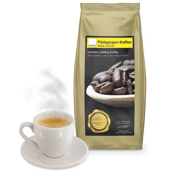 """TimeTEX Pädagogen-Kaffee """"Wilde Crema"""" 500g"""