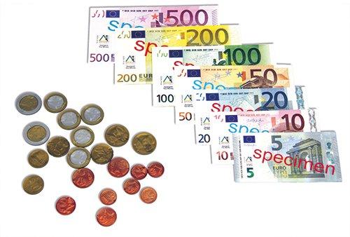 Set Euro-Rechengeld, 44-tlg.
