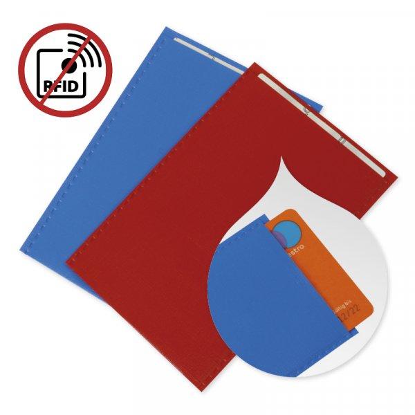 Karten-Sicherheits-Schutzhülle RFID, 2 Stück