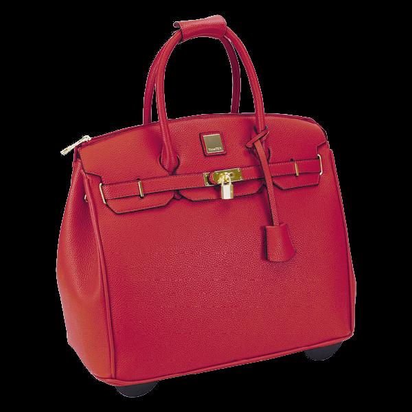 """TimeTEX Handtaschen-Trolley """"Bella"""", rot"""