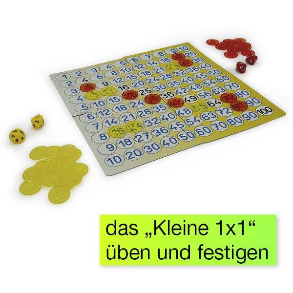 """Mathe-Spiel """"Kleines 1x1"""", 115-tlg."""