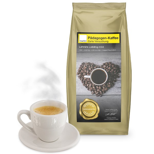 "TimeTEX Pädagogen-Kaffee ""Zarte Versuchung"" 500g"