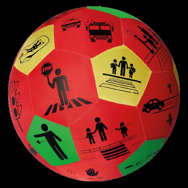 """Lernspiel-Ball """"Pello"""" - Verkehrs-Erziehung"""