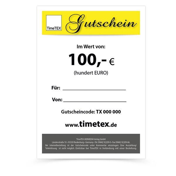 TimeTEX Gutschein 100,00