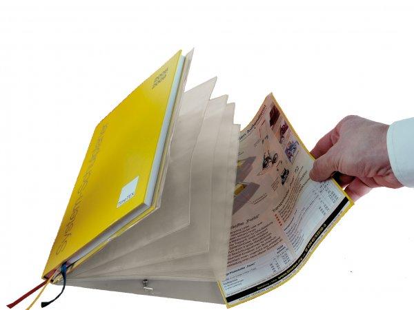 Aufsteck-Fächermappe für Schulpl. A5-Plus